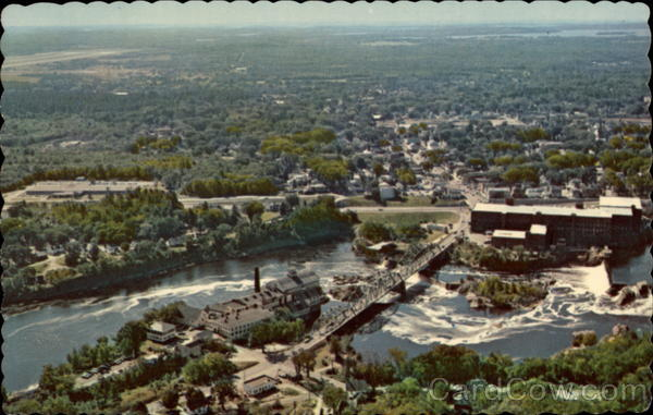 Aerial View of the Falls Brunswick