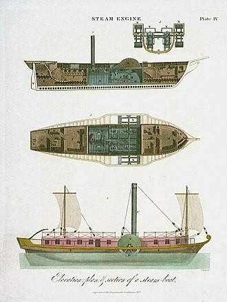 TOPSHAM STEAMSHIP CIRCA 1855