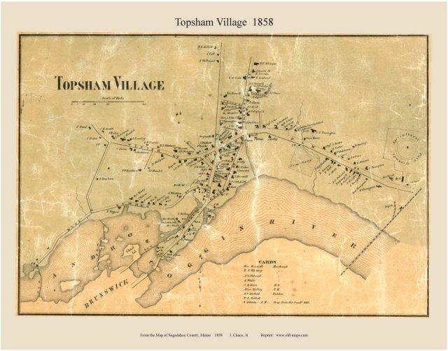 1858 Topsham_village